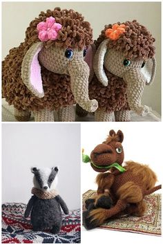 2019 Amigurumi Doll And Animal Crochet Free Patterns And Tutorials – Free Amigurumi Crochet Diy Crochet Patterns, Crochet Stitches, Free Crochet, Knit Crochet, Yarn Projects, Crochet Projects, Stuffed Toys Patterns, Amigurumi Doll, Crochet Animals