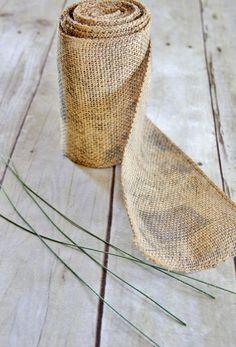 How To Make a Burlap Bow | Thistlewood FarmThistlewood Farm