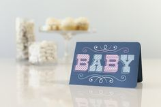 Printable Baby Card. Make It Now in Cricut Design Space