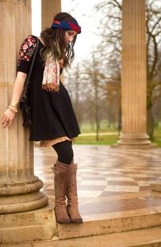 25 Trendy Fashion Boho Winter Indie Outfits for Women - Pinmagz Winter Sweater Outfits, Winter Outfits Women, Winter Sweaters, Indie Outfits, Casual Outfits, Trendy Fashion, Boho Fashion, Boho Look, Boho Style
