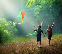 Because sometimes flying kites is just the right thing to do