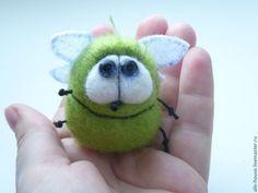 Купить Букашечная коллекция - червяк, букашка, букашки, стрекоза, стрекозки, стрекозы, пчела, пчелка, пчелки