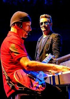 U2 - Bono and The Edge,  SOI tour