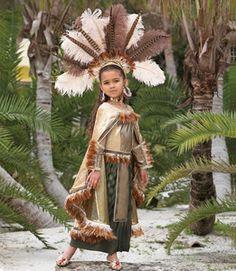 Aztec Princess costume child Halloween