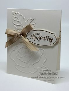 Klompen Stampers (Stampin' Up! Demonstrator Jackie Bolhuis): Rose Wonder Card Series--Card #3