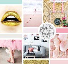@Pastel Feather Studio design by pastel feather studio, balkopugu blog makeover , moodbard, custom blogger template. Pink, blush, blue, grey, gold and glitter design