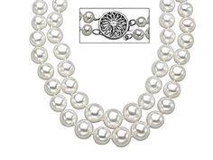 18-inch 4.5-9mm Pearl Strand with Sterling Silver Clasp