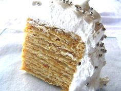 Gourmet Recipes, Sweet Recipes, Cake Recipes, Dessert Recipes, Desserts, Torta Pompadour, Chilean Recipes, Chilean Food, Catering Food