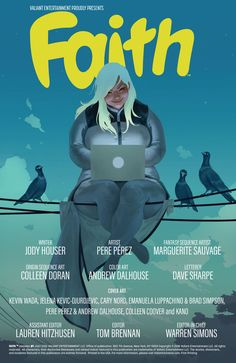 Preview: Faith #1 #ValiantComics