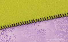 Sewing With Nancy Zieman How to use a serger. Learn how to serge a blanket.