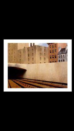 Edward Hopper - Approaching a City, 1946 - Oil on canvas - 68,9 x 91,4 cm - The Phillips Collection, Washington, D.C.
