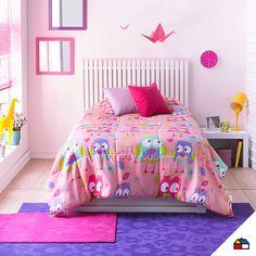 El cuarto de los más pequeños puede ser el más divertido de la casa. #Sodimac #Homecenter #sábanas #almohada #cuarto #dormitorio #espacio #hogar #inspiración #decoracion #homedecor