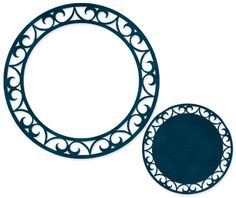 Brittany's SVG Files: Decorative Circle Frame & Tag