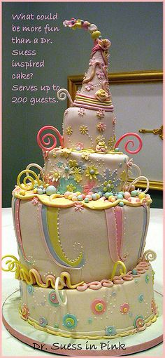 Dr. Suess in pink by babushka bakery, via Flickr
