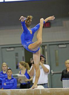 Mackenzie Caquatto Gymnastics NCAA Florida Gators balance beam gymnast