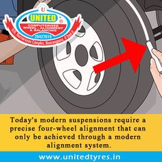 Alignment is one of the key maintenance factors in getting the most wear and performance from your tyres. #WheelAlignment #Wheel #Alignment #Ahmedabad