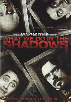 Availability: http://130.157.138.11/record=b3875228~S13 What We Do In The Shadows / written and directed by Jermaine Clement and Taika Waititi. Witness the many horrid, abominable aspects of vampire life, such as hunting and feeding, vampire rivalry and fighting with werewolves, as well as normal night to night aspects that make them not so different from us like keeping the flat clean, jobs, shopping, meeting people and trying to fit in.