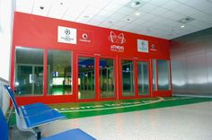 UCl Final Sponsorship - Athens International Airport