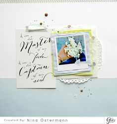 Glitz Design by Nina Ostermann on the Glitz Blog!