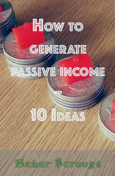 Day work does not always generate enough income. Passive income may be a way to get more money. I give some Ideas how to generate passive income.