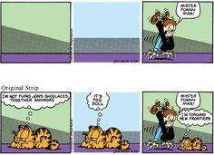 Garfield Minus Garfield Comic Strip, April 25, 2016     on GoComics.com