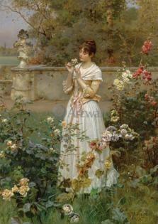 Романтика в живописи, Вильгельм Ментцер