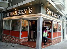 Order an ice cream cone at the first-ever Swensen's on Russian Hill. Photo: Flickr / Cragin-Spring