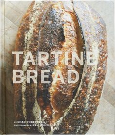 Master baker Chad Robertson's exhaustive knowledge and philosophy of artisan breadmaking opens up the kitchen of his legendary bakery for the home cook.  This essential handbook features 50-plus recipes with step-by-step photography, starting with a master formula for basic bread and elaborating on the theme with recipes for yeast breads and sweet and savory dishes for using day-old bread.