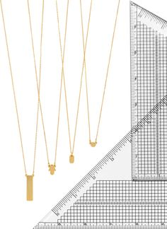 these delicate pendants measure up.