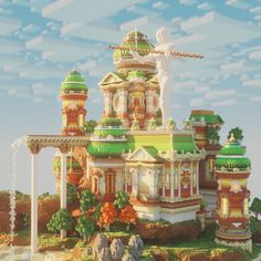 Here you can share your Minecraft builds and seek advice and feedback from like minded builders! From PC to Pocket Edtion, Professional to novice. Minecraft Palace, Minecraft Statues, Minecraft Castle, Cool Minecraft, Minecraft Skins, Minecraft Blueprints, Minecraft Projects, Minecraft Crafts, Minecraft Designs