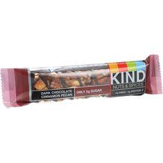 Kind Bar - Dark Chocolate Cinnamon Pecan - 1.4 Oz Bars - Case Of 12
