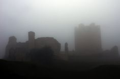 Conisbrough Castle in Yorkshire