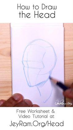 Art Drawings Sketches Simple, Pencil Art Drawings, Human Anatomy Drawing, Drawing The Human Head, Human Art, Figure Drawing Tutorial, Learn Art, Digital Art Tutorial, Art Reference Poses