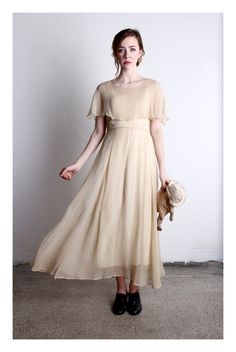 GATSBY GOWN 1920s Silk Flapper Dress  High Fashion  by VeraVague, $350.00        This could possibly be my wedding dress! i love it soooo much! I am in love with the sweetness and simplicity of it!