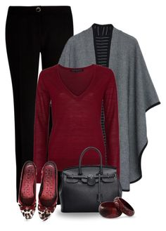 """""""Chilly autumn day"""" by molly2222 ❤ liked on Polyvore featuring moda, Ted Baker, MANGO, French Connection, Coach e NOVICA"""