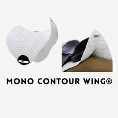 HRP® JUMP MONO CONTOUR WING®. Striking visual appearance & unique branding/personalisation placement. HRP® Pressure Reducing WING® Saddle Pads exert NO pressure behind the saddle over the lumbar spinous processes. We sell internationally. Buy now: www.hrpequestrian.com  Made in the UK 🇬🇧🎉🙌🏻