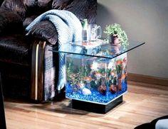 53 Aquarium Design Ideas That Make your Home Look Beauty - Matchness.com Aquarium Terrarium, Table Aquarium, Aquarium Mini, Tropical Aquarium, Aquarium Fish Tank, Aquarium Stand, Aquarium Lamp, Aquarium Photos, Aquarium Garden