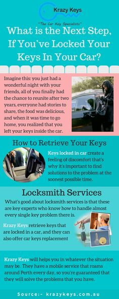 Whether you are locked out of your car, need duplicate keys, Krazy Keys have professional Locksmith expert team that can easily handle your automobile or residential locksmith needs. Just call (1300057299) them and they will reach you within a minute.
