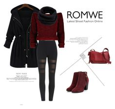 """Romwe.com"" by alien-official ❤ liked on Polyvore featuring Coach, Helmut Lang, women's clothing, women's fashion, women, female, woman, misses and juniors"
