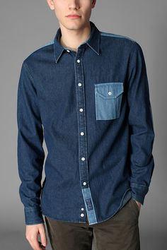 penfield brimfield denim shirt