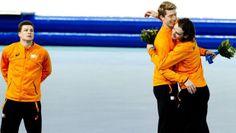Sven Kramer moet het doen met zilver. Jorrit Bergsma Olympisch kampioen en wint goud. De teleurstelling op het gezicht van Sven Kramer spreekt boekdelen. Bob de Jong zorgde met de bronzen plak voor het vierde volledig Nederlandse podium in Sotjsi tijdens deze Olympische winterspelen.