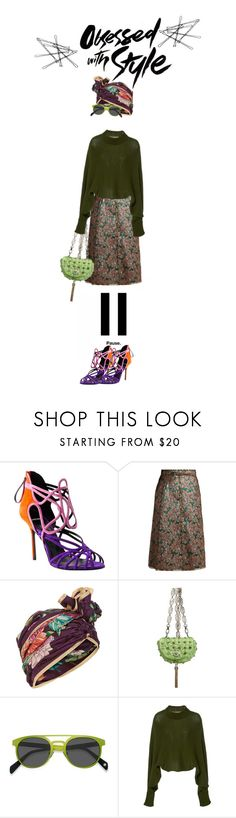 """""""Pause to Appreciate Your Own Sense of Style"""" by puellasum ❤ liked on Polyvore featuring Pierre Hardy, Dolce&Gabbana, Dee Di Vita, Versace, EyeBuyDirect.com and Rosetta Getty"""