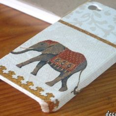 Cool elephant phone case