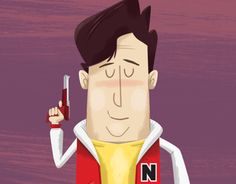 Dribbble: Captain N - The Game Master