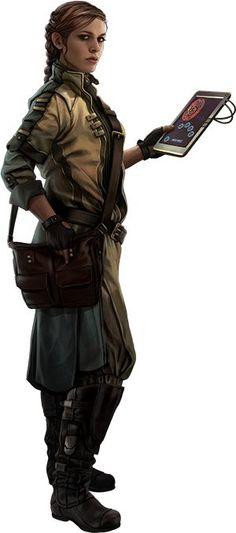 Clockwork segítője,aki kitalál neki uj dolgokat és segit az elkiszétésükben is.Ő járkál ki és gyüjti be a dolgokat a világból mindenféle lim-lomot.