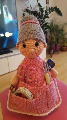 crochet crafter toy organizer