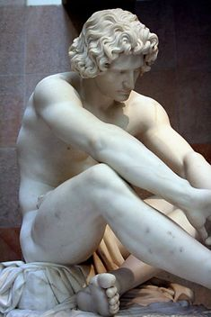 It truly amazes me how much talent and dedication it takes to carve this out of a block of marble - Le Désespoir, Jean-Joseph Perraud, Musée d'Orsay, Paris