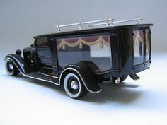 1932 Ford Hearse hot-rod model kit. Das Wettringer Modellbauforum