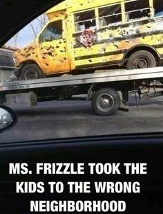 Ms. Frizzle took the kids to the wrong neighborhood