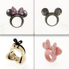 Disney rings I want these!